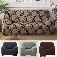 Stretch Sofa Slipcover Lounge Settee Couch Protector Cover Armles Armrest Seater
