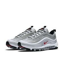 Nike Mens Air Max 97 OG QS Silver Bullet Red 2017 3M Reflective Shoes 884421-001