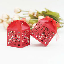 20/set Red/Blue Paper Butterflies Box Candy Boxes Wedding Party Favors Gift