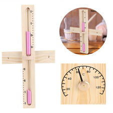 15 Minutes Sauna Thermometer Room Sand Clock Glass Timer Wall-Mount Hourglass HG