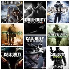 Call Of Duty Collection Lot (Xbox 360 Game Lot)