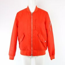 IQ Berlin Jacket 1241 Size 36 38 40 Orange Red Bomber Blouson Parka NP 209 NEW