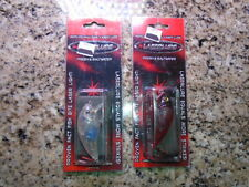 NEW Laserlure Top/Shallow Diving Lure w/ Laser Light Technology - Ships Free !