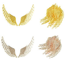 12Pcs Jewelry Charm Pendants DIY Large Alloy Wings Findings Making