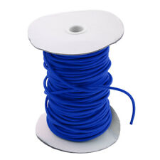4mm Round Elastic Bungee Rope Shock Cord Tie Down Boats Trailers DIY 50cm-75m