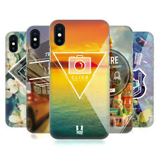 HEAD CASE DESIGNS TRAVELLER THOUGHTS HARD BACK CASE FOR APPLE iPHONE PHONES