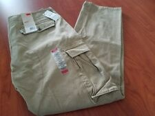 NEW LEVIS MENS CARGO I RELAX FIT BEIGE KHAKI PANTS MANY SIZES AVAILABLE