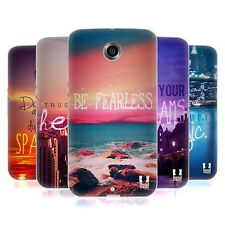 HEAD CASE DESIGNS WORDS TO LIVE BY 4 SOFT GEL CASE FOR MOTOROLA PHONES