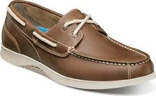 Nunn Bush Bayside Lites Two Eye Boat Shoes $80 NEW in Brown Leather