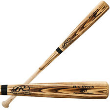 RAWLINGS Big Stick 302F Wood Baseball Bat 32 33 in. Flame Torched Ash Adult NEW