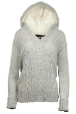 Helly Hansen Women's Jacket Jumper Hoodie Wool Alpaca