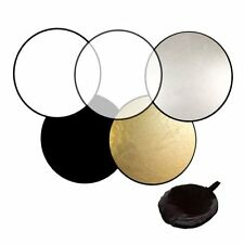 60cm 80cm 5in1 Photography Studio Light Mulit Collapsible disc Reflector DK