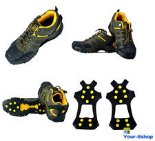 Snow Ice Grippers Anti Slip Shoe Boot Traction Grips For Boots Shoes Anti-Slip