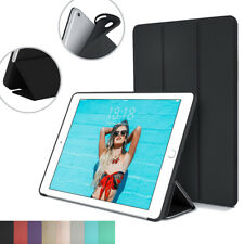 TPU Case for Apple iPad with Magnetic Leather Ultra Slim Trifold PC Smart Cover