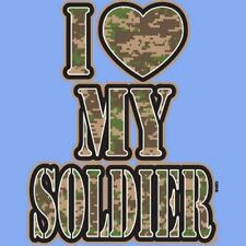 I Heart My Soldier T Shirt You Choose Style, Size, Color 10818