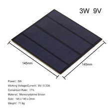 3W 6V / 9V DIY Solar Panel Small Cell Battery Module Epoxy Charger New BO