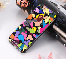 Colorful A Bathing Ape Bape Camo camouflage army Bumper Gel Case For iPhone 6 6s
