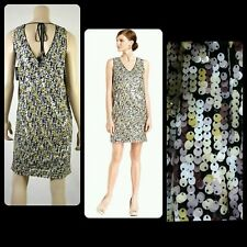 $168 VINCE CAMUTO Multi Sequin Sleeveless Shift Party Cocktail Dress~ 4,10 M3020