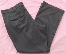 NWT Lee Riders 26W M Heavenly Touch Stretch Pants Boot Cut Cotton/Spandex Gray