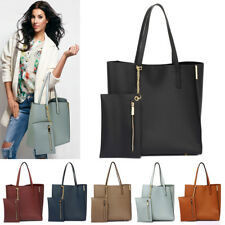 Womens Tote Bags With Removable Pouch Ladies Designer Large Shoulder Bags New