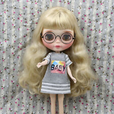 1/6 Scale Tshirt Jumper Dress Top Outfit For Blythe Azone Licca Pullip Doll