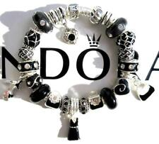 Authentic PANDORA 925 Sterling Silver Bracelet FRIDAY NIGHT with Charms NEW AA26