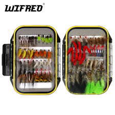 214PCS Fly Fishing Lure Dry Wet Flies Nymph Streamer Carp Fishing Tackle Fly Box