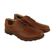 Hush Puppies Pender Spy Ice+ Mens Tan Leather Casual Dress Oxfords Shoes