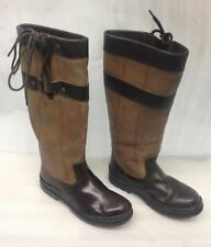 Harry hall YALE Brown Ladies  long country boots UK 8 EURO 42 regular CALF