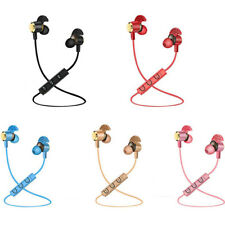 Bluetooth V4.1 Wireless Sports aptX Stereo Earbuds Secure Fit with Build-In Mic