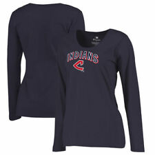 Cleveland Indians Fanatics Branded Women's Plus Size Cooperstown Collection
