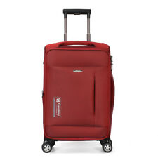 """20"""" Pilot Rolling Luggage Spinner Casters Travel Suitcase Carry On Trolley Wheel"""