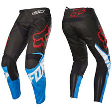 FOX RACING YOUTH KIDS MOTOCROSS 180 PANTS SABBATH SE BLUE / BLACK bike trousers