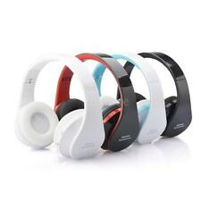 Wireless Bluetooth Headphone Earphone Stereo Bass Headset Mic for iPhone Samsung
