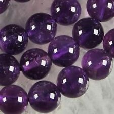 AAA+++6mm Natural Russican Amethyst Gemstones Round Loose Beads 15''