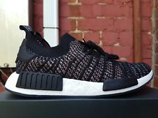 NEW IN THE BOX ADIDAS NMD_R1 STLT PK B37636 CORE BLACK/ GREY SNEAKER FOR MEN
