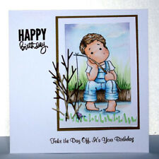 Album Decor Cards Paper Cutting Dies Scrapbooking Boy Clear Stamps Stencils