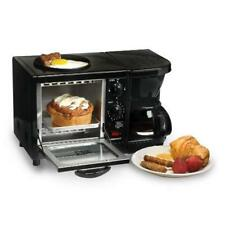 3 in 1 Breakfast Maker Machine Multifunction Center Coffee Toaster Oven Station