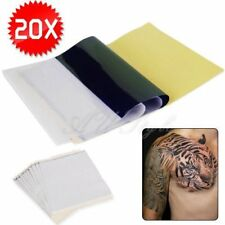 25/ 20 Sheets 4 Layers  Tattoo Stencil Transfer Paper Spirit Thermal Carbon Kit
