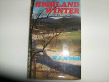 Highland Winter by Mitchell, W. R. Hardback Book The Cheap Fast Free Post