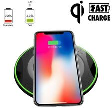 Qi Wireless Fast Charger Charging Pad For Samsung Note 8 S9 S8 iPhone X 8 Plus