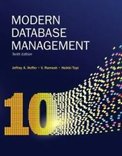 Modern Database Management, by Hoffer, 10th Edition
