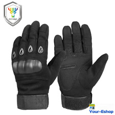 Biker Gloves Men Motorcycle Riding Glove Bicycle Knuckle Protection Motorbike