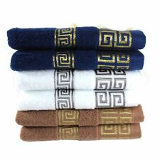 Cotton Bath Towel Soft For Adults Absorbent Luxury 100 Hand Wash Large Towels