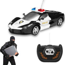 Kids Wireless RC Police Car Truck Birthday Xmas Gift Remote Control Vehicle Toys