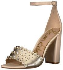 Sam Edelman Womens Yaria 2 Leather Open Toe Special Occasion Ankle Strap Sand...