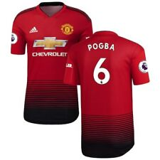 Paul Pogba Manchester United adidas 2018/19 Home Authentic Player Jersey - Red