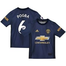 Paul Pogba Manchester United adidas Youth 2018/19 Third Replica Player Jersey -