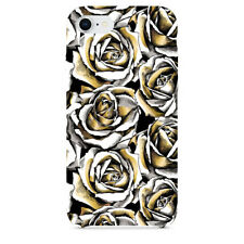 Gold Rose Flowers Phone Cases For iPhone 7 iPhone 8 iPhone X & Samsung Galaxy S9