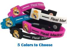 Real Madrid Football Soccer Team Wristband Wristlet Bracelet Pulseras World Cup